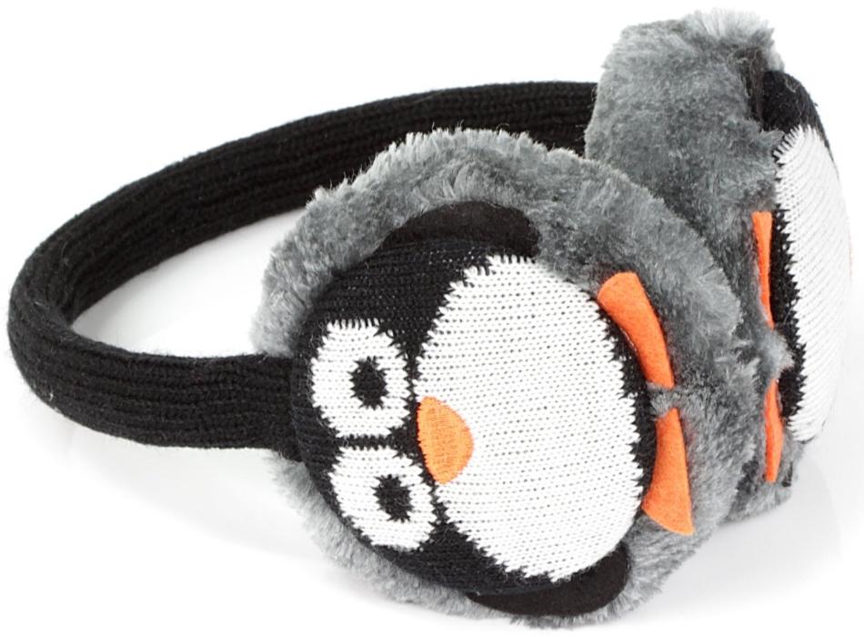 Aparatori urechi KitSound Penguin, cablu cu mufa de 3.5mm, KSMFPEN Negru Gri