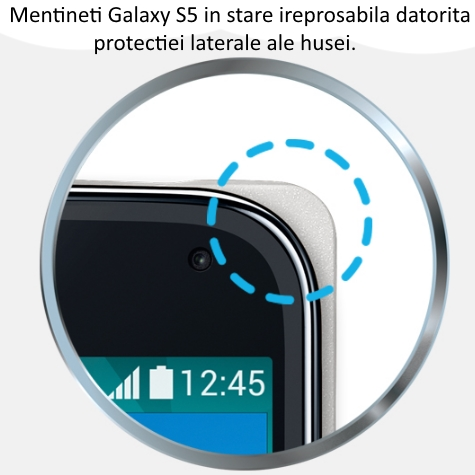 Husa Flip Wallet Cover Moschino pentru Samsung Galaxy S5 (G900) 2
