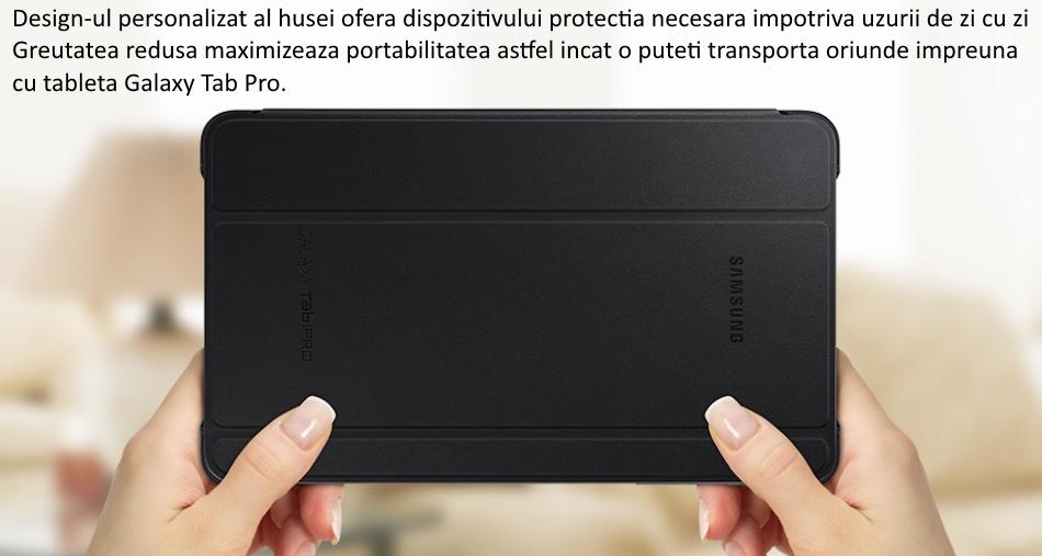 Husa Stand Book Cover pentru Samsung Galaxy Tab Pro 8.4 inch