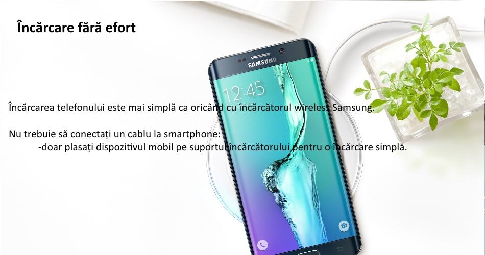 Incarcare Fast Charging Wireless pentru Samsung G928 Galaxy S6 Edge Plus, EP-PN920