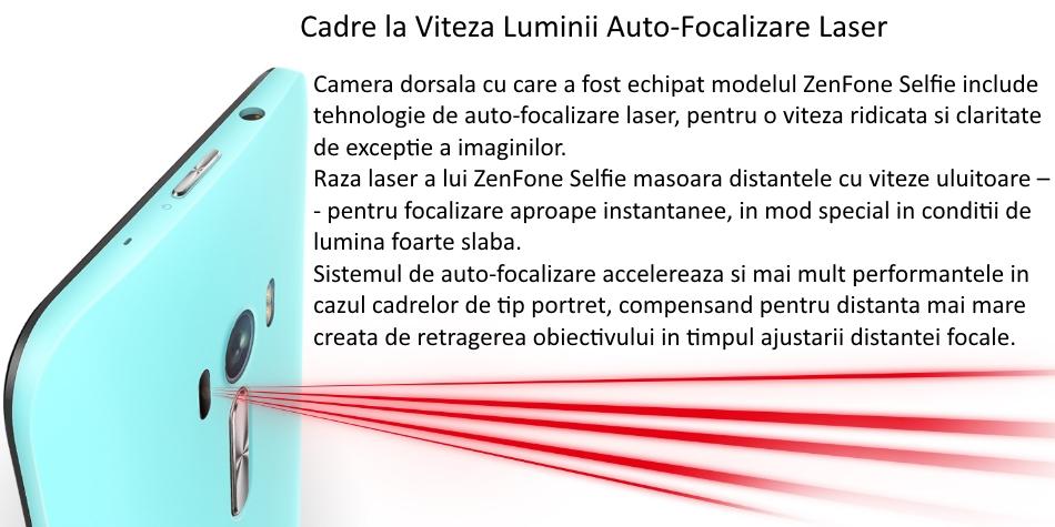 Telefon mobil Dual SIM ASUS ZenFone Selfie ZD551KL, 32GB + 3GB RAM, LTE, Black 9