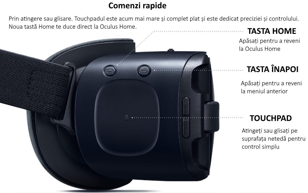 Ochelari Samsung Gear VR 2, SM-R323 Blue Black 3