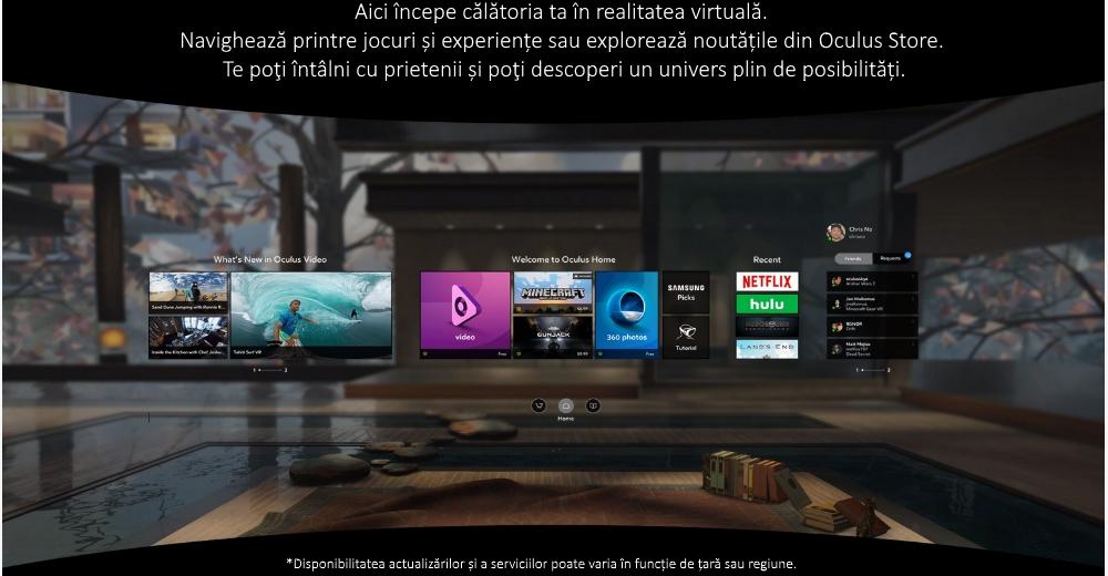 Ochelari Samsung Gear VR 2, SM-R323 Blue Black 5