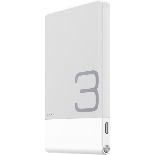 Acumulator extern universal Huawei Colorphon 3, 3000 mAh, White