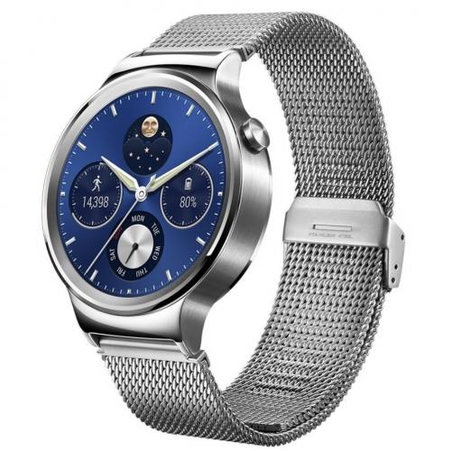 Bratara Smart Huawei Watch W1 otel inoxidabil, bratara plasa metalica