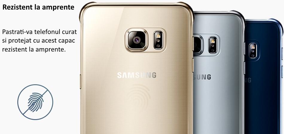 Capac protectie Glossy Cover pentru Samsung Galaxy S6 Edge+ (G928) 2