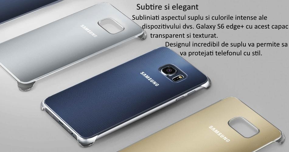 Capac protectie Glossy Cover pentru Samsung Galaxy S6 Edge+ (G928)