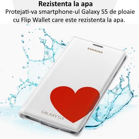 Husa Flip Wallet Cover Moschino pentru Samsung Galaxy S5 (G900) 1