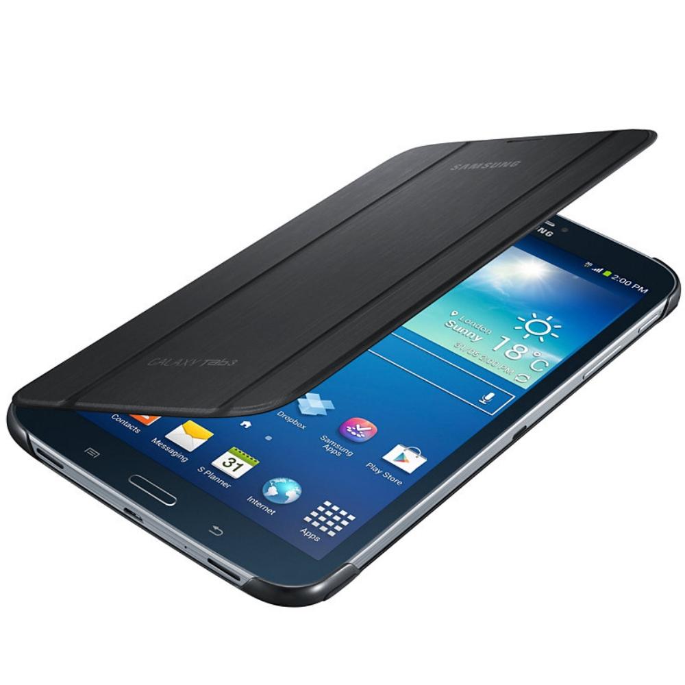 Samsung Book Cover Black Galaxy Tab A : Husa stand book cover black pentru samsung galaxy tab
