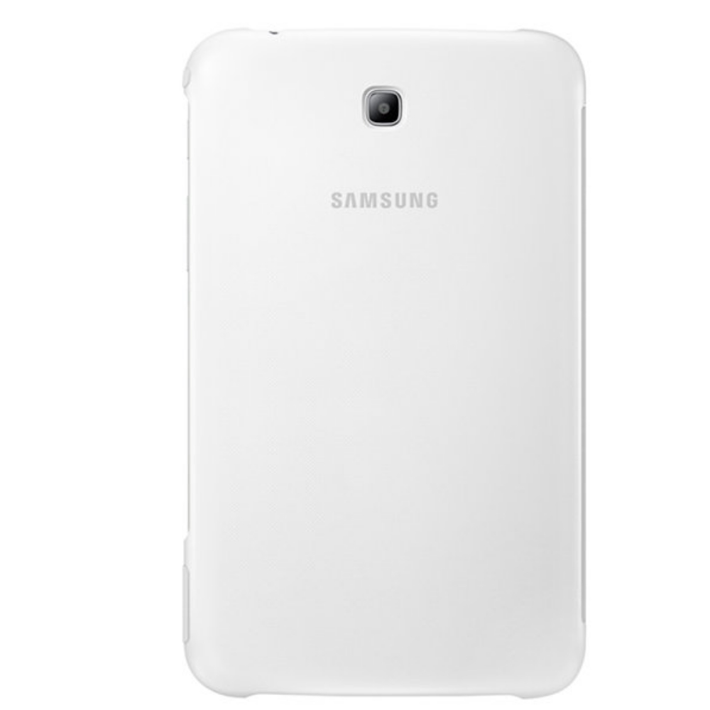 Samsung Tab Book Cover White ~ Husa stand book cover white pentru samsung galaxy tab