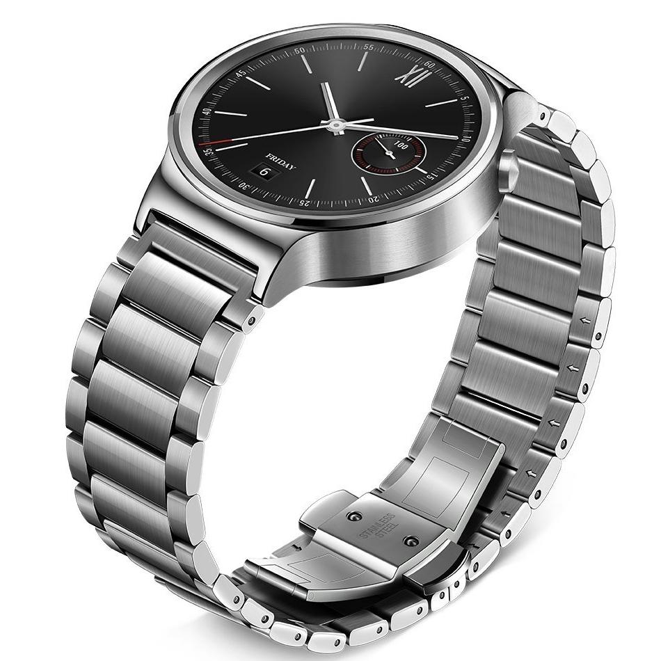 Smartwatch Smart Huawei Watch W1 otel inoxidabil, bratara ...