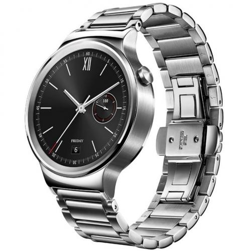 Smartwatch Smart Huawei Watch W1 otel inoxidabil, bratara zale metalice