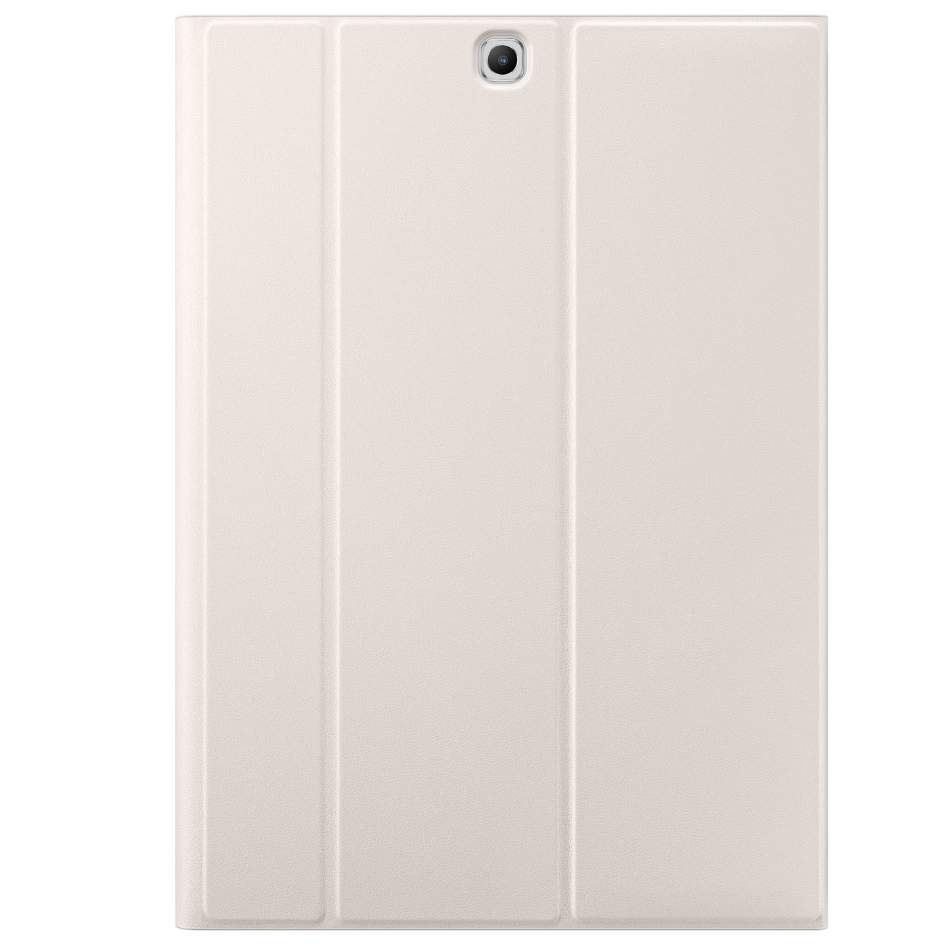 Samsung Tab S Book Cover White : Husa stand book cover white pentru samsung galaxy tab s