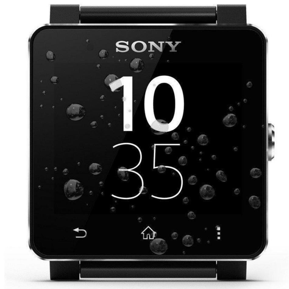 Sony SmartWatch 2 SW2, Leather Black 7