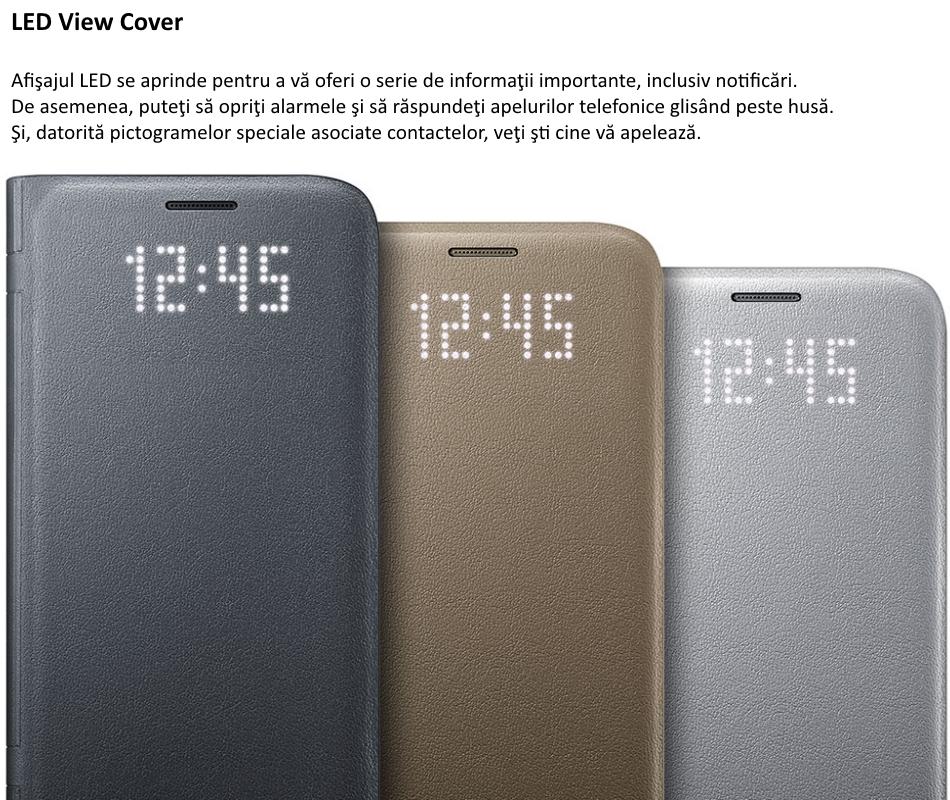 Husa protectie Led View Cover pentru Samsung Galaxy S7 (G930)