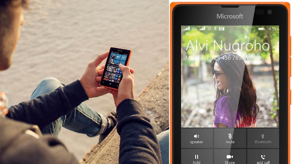 Dual SIM Microsoft Lumia 435 1