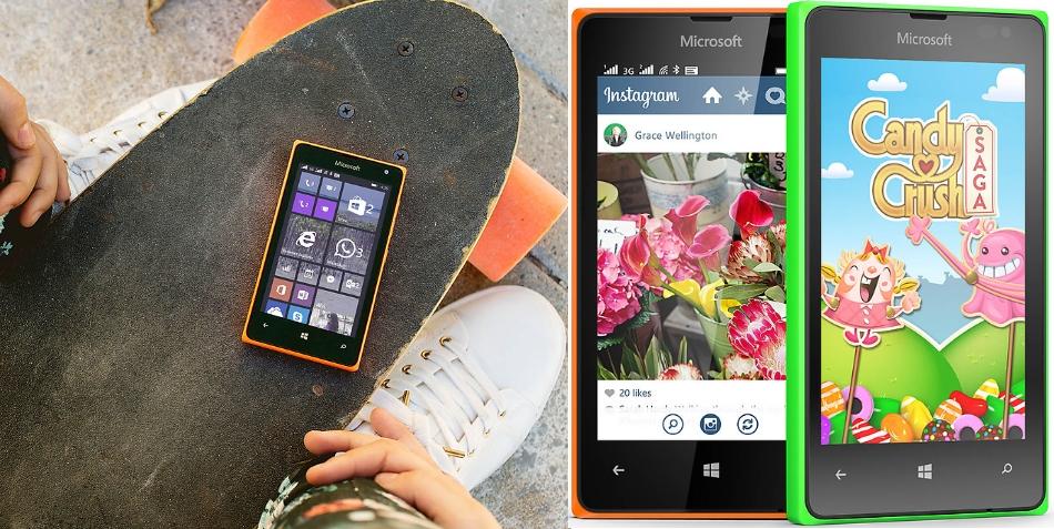 Dual SIM Microsoft Lumia 435