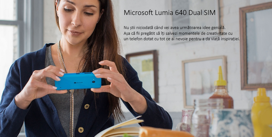Dual SIM Microsoft Lumia 640 (Windows Phone 8.1) 3G