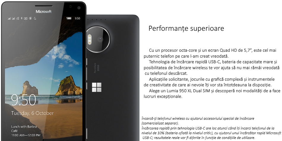 Dual SIM Microsoft Lumia 950 XL 1