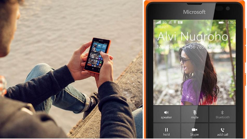 Single SIM Microsoft Lumia 435 1