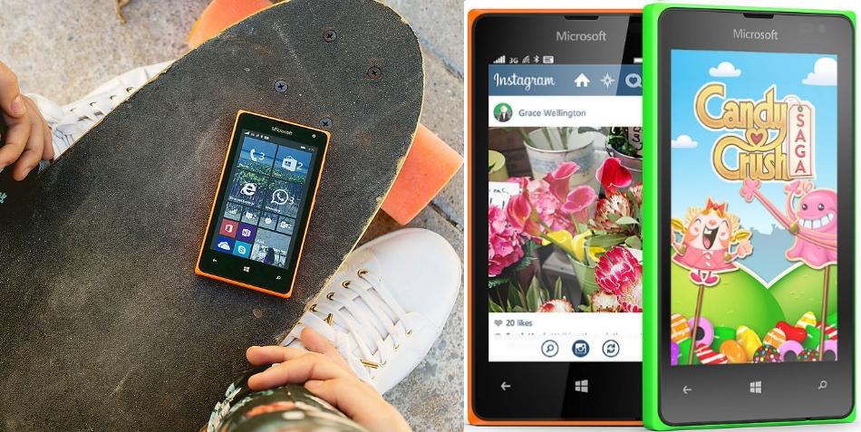 Single SIM Microsoft Lumia 435