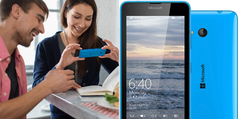 Single SIM Microsoft Lumia 640 (Windows Phone 8.1) LTE 1