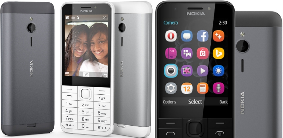 Single SIM Nokia 230 1
