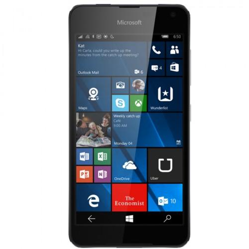 Telefon mobil Single SIM Microsoft Lumia 650, 16GB, LTE, Black Dark Silver