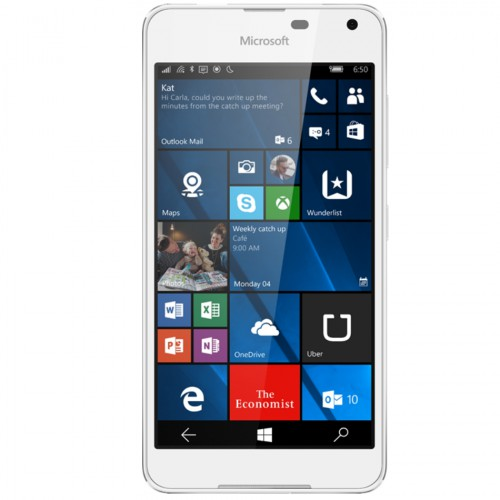 Telefon mobil Single SIM Microsoft Lumia 650, 16GB, LTE, White Light Silver