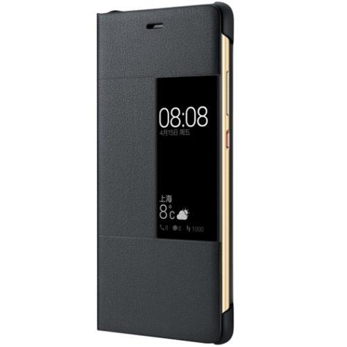 Husa Smart Cover 51991510 pentru Huawei P9, Dark Gray