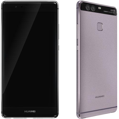 Telefon mobil Dual SIM Huawei P9, 32GB + 3GB RAM, Titanium Grey