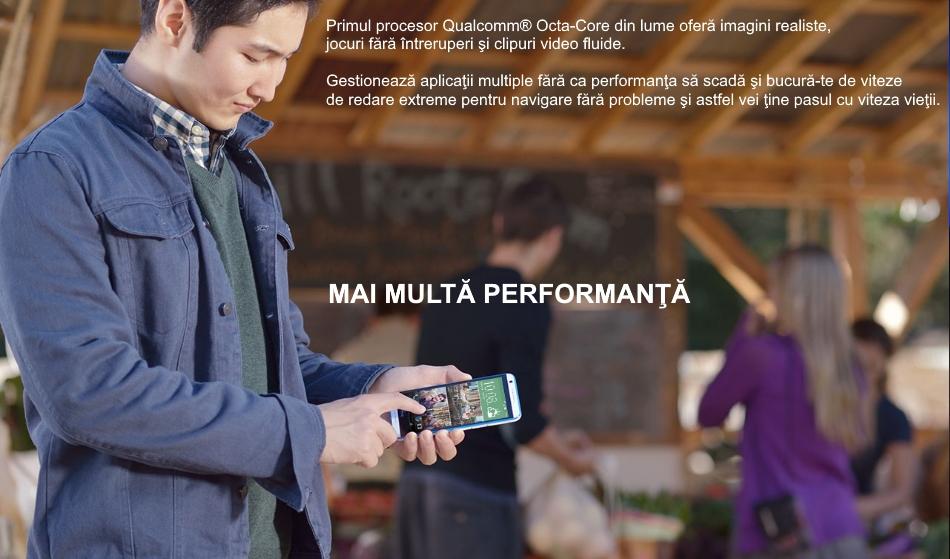 Telefon mobil Single SIM HTC Desire 820, 16GB LTE, Dark Grey 1