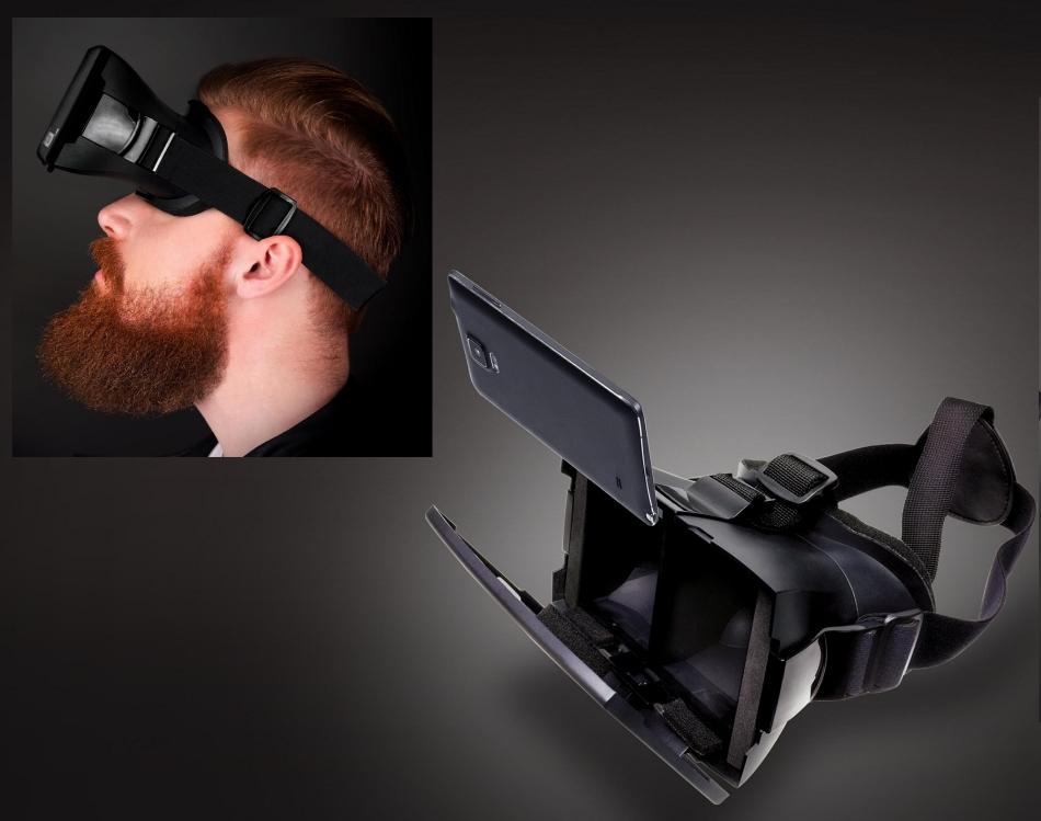 Ochelari Arcade Horizon VR, VRHEADBK Black 4