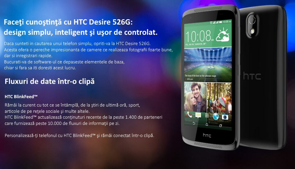 Dual SIM HTC Desire 526G