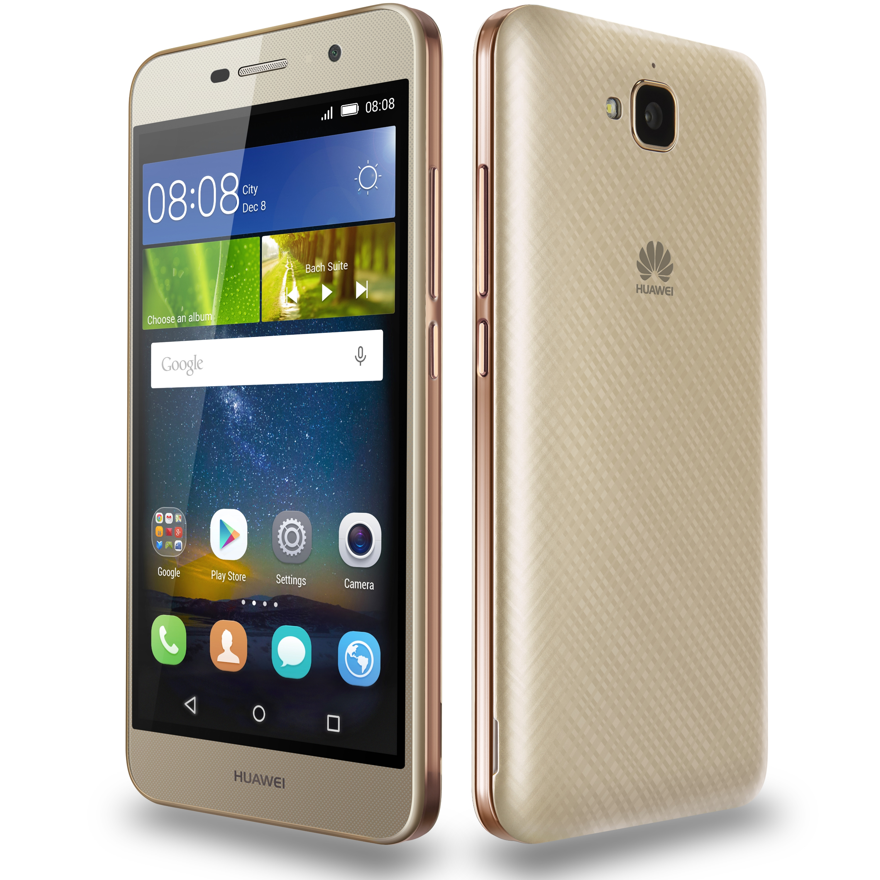 telefon mobil dual sim huawei y6 pro 16gb lte gold. Black Bedroom Furniture Sets. Home Design Ideas