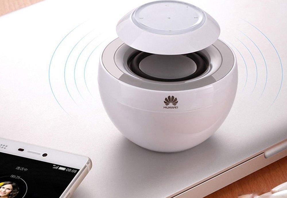 Boxa portabila Huawei Swan AM08 White, Bluetooth Stereo Speaker, microfon incorporat, 02451780 6
