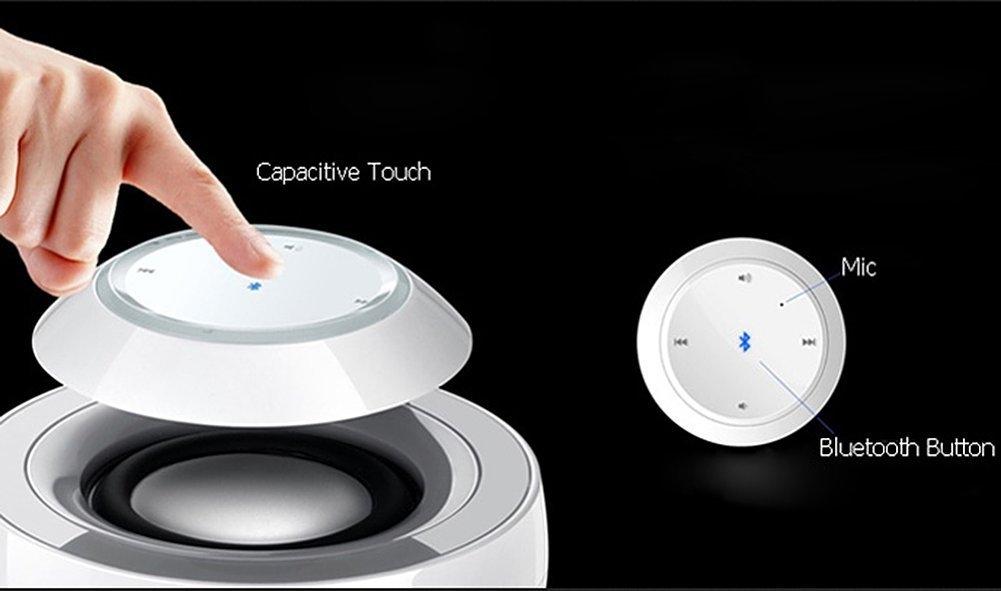 Boxa portabila Huawei Swan AM08 White, Bluetooth Stereo Speaker, microfon incorporat, 02451780 7