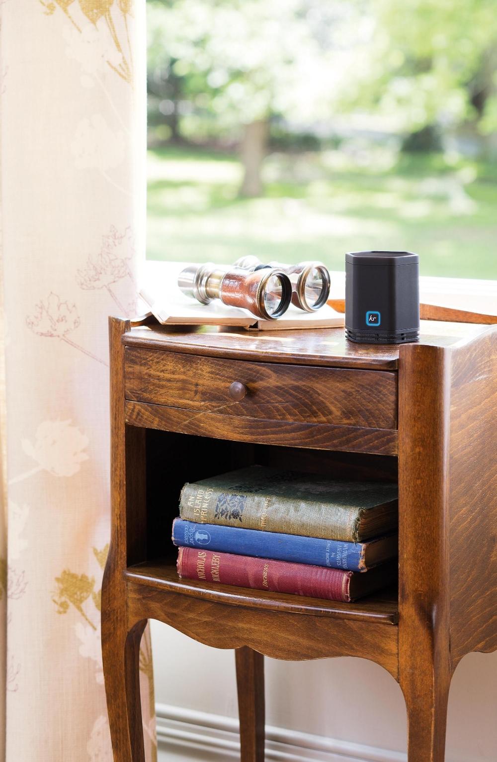 Boxa portabila KitSound Hive cu bluetooth si NFC + casca cu fir stereo KitSound Hive cu buton de raspuns pe fir, Pachet bundle KSEVBUNRG 1