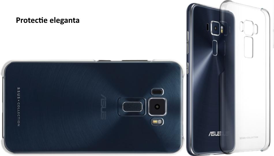 Capac protectie Clear Case pentru Asus Zenfone 3 ZE520KL, 90AC01U0-BCS004