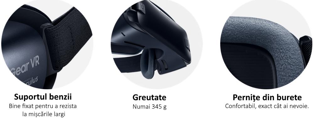 Ochelari Samsung Gear VR 2, SM-R323 Blue Black 1