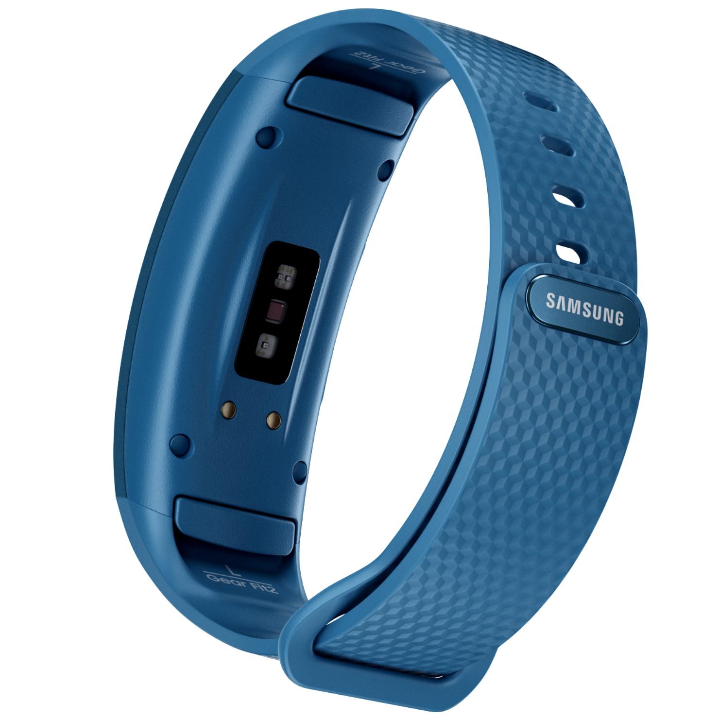 ceas smartwatch samsung gear fit 2 sm r360 blue world. Black Bedroom Furniture Sets. Home Design Ideas