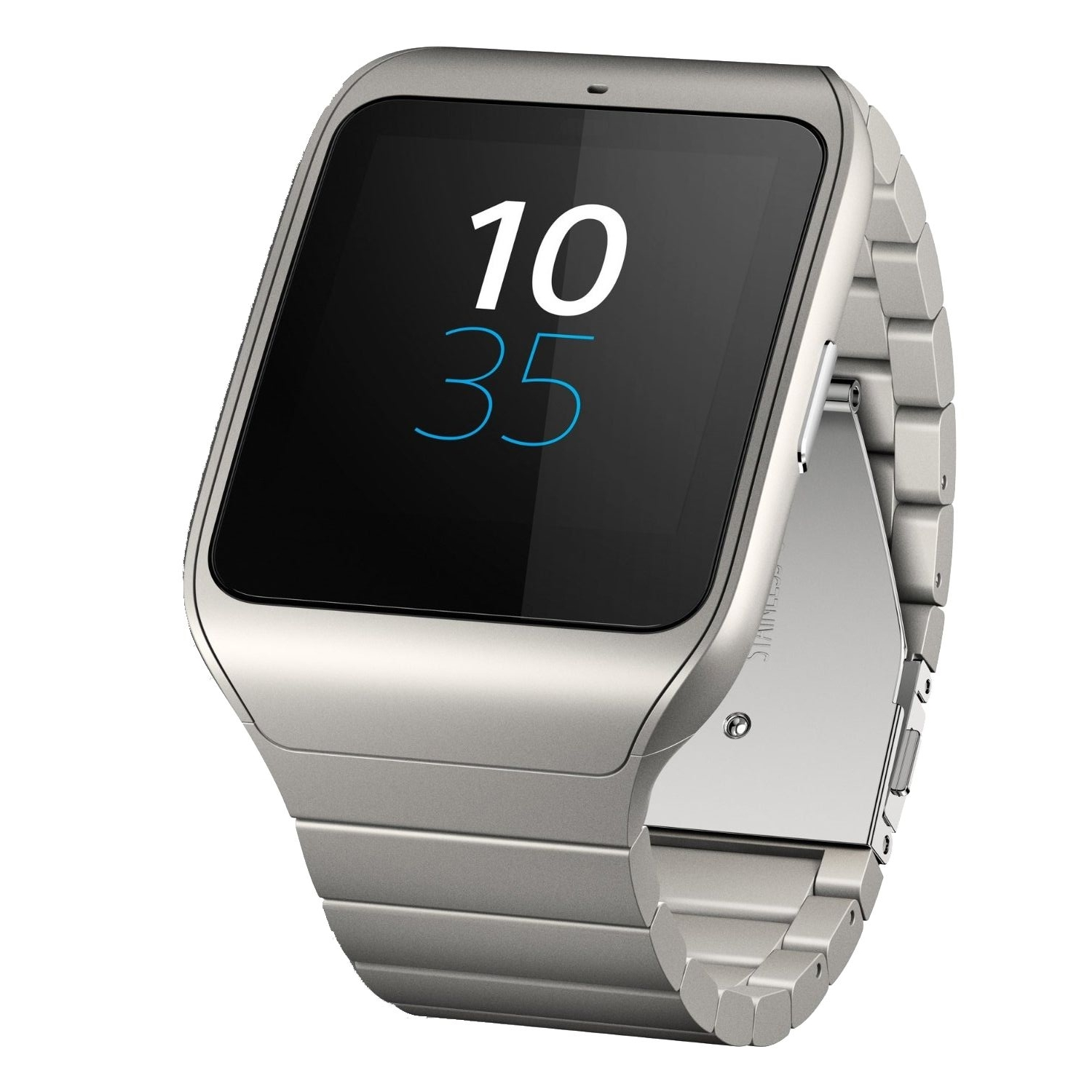 sony smartwatch 3 swr50 metal silver world comm the phone warehouse. Black Bedroom Furniture Sets. Home Design Ideas