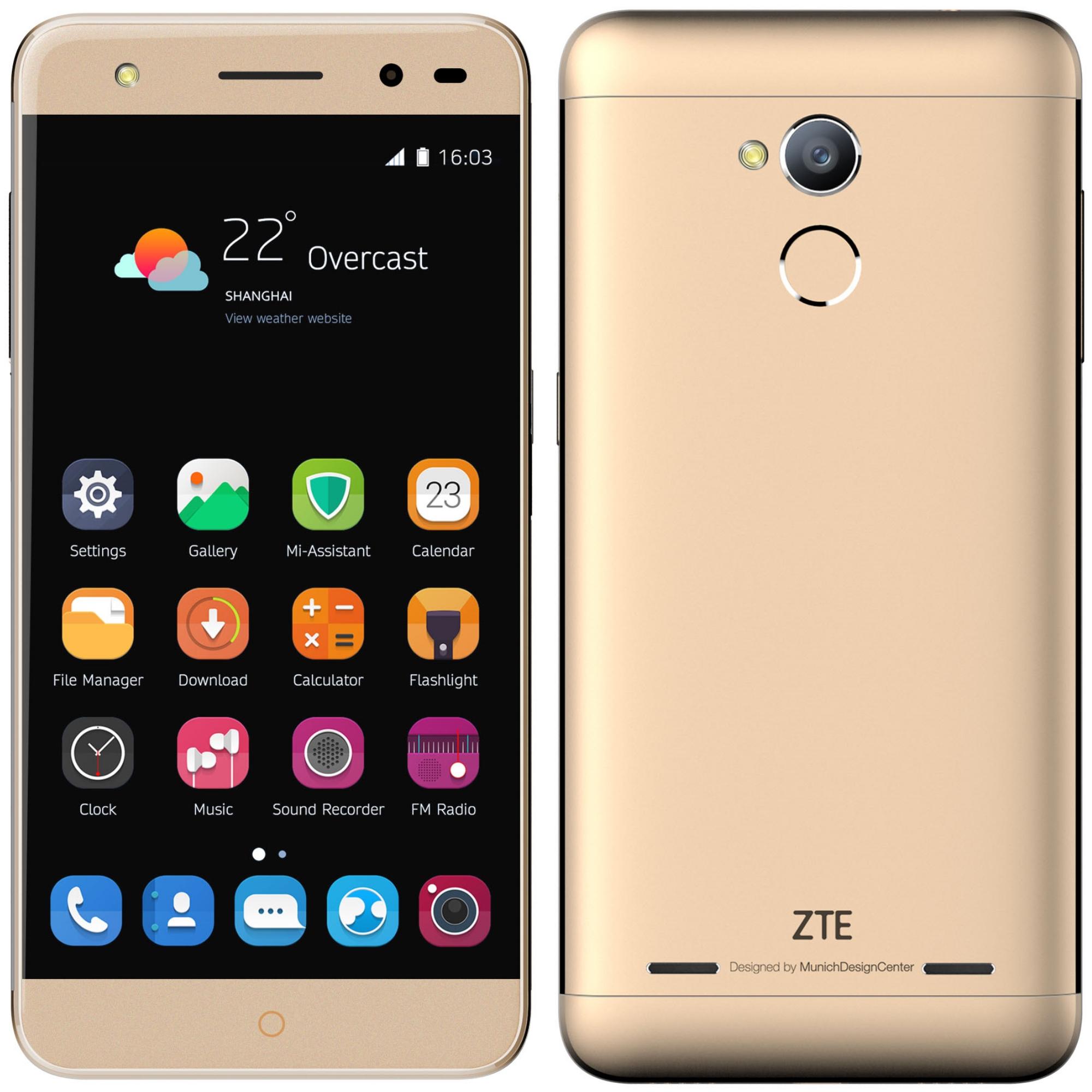 Telefon Mobil Dual Sim Zte Blade V7 Lite Quad Core 1 0ghz