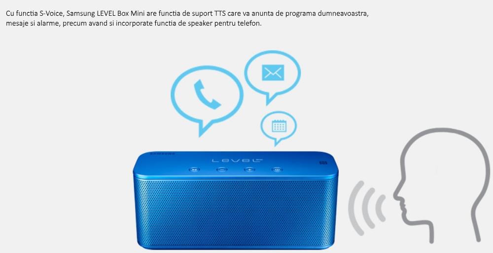 Boxa portabila Samsung Level Box Mini EO-SG900DBEGWW, bluetooth, Negru 3