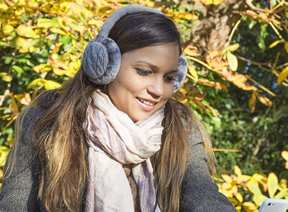 Aparatori urechi KitSound Chunky Cable, cablu cu mufa de 3.5mm, KSMUFCKGY Gri