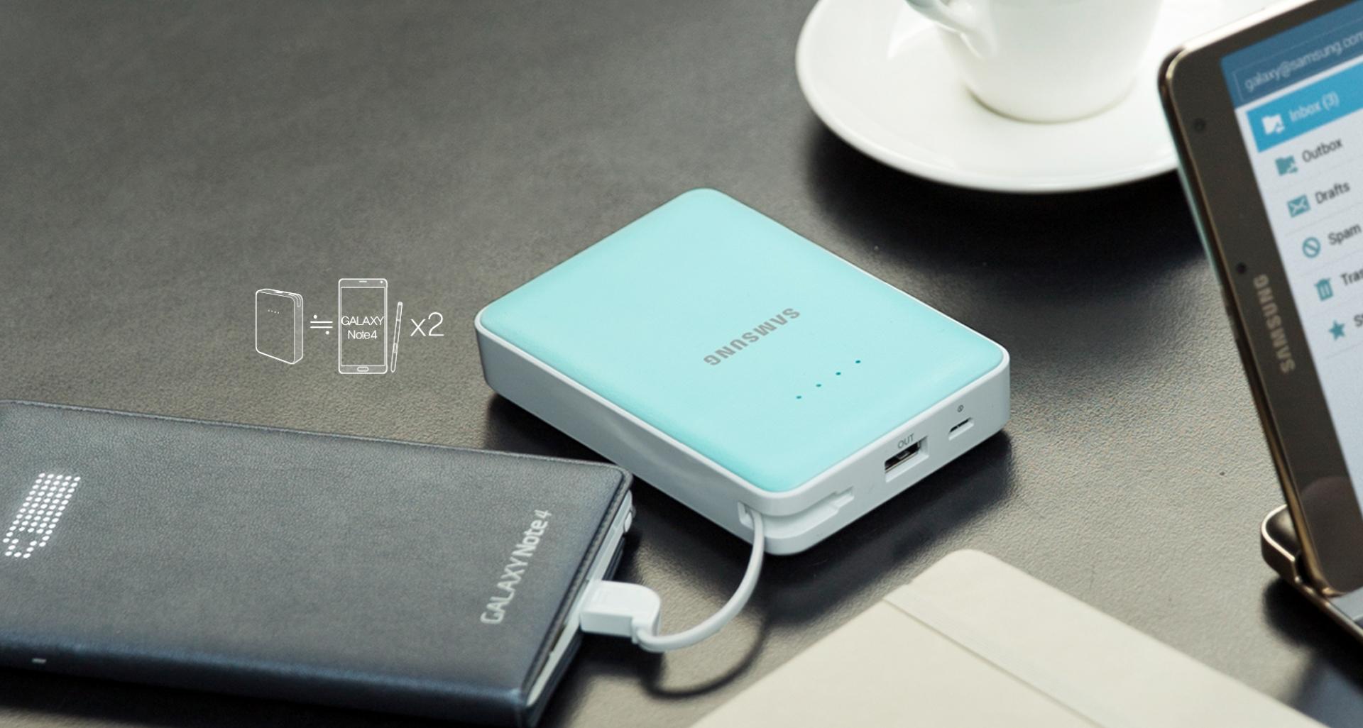 Acumulator universal extern cu incarcare rapida, Samsung EB-PG850