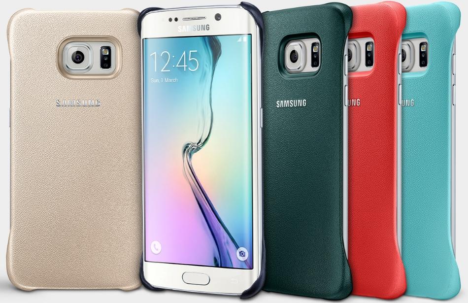 Capac protectie spate EF-YG925B pentru Samsung Galaxy S6 Edge (G925)