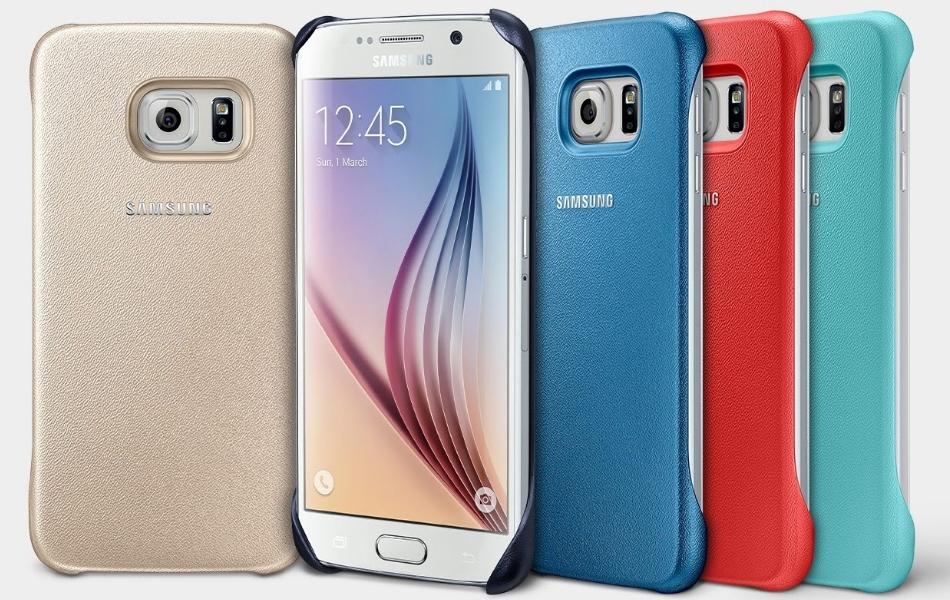 Capac protectie spate pentru Samsung Galaxy S6 (G920), EF-YG920B