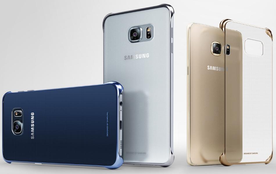 Clear Cover pentru Samsung Galaxy S6 Edge+ (G928)