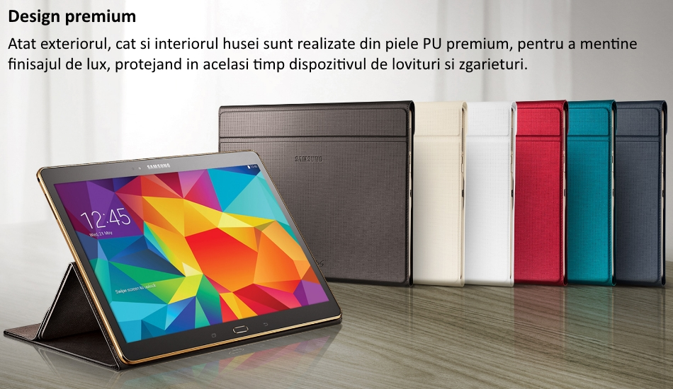 Husa Book Cover pentru Samsung Galaxy Tab S 10.5 inch